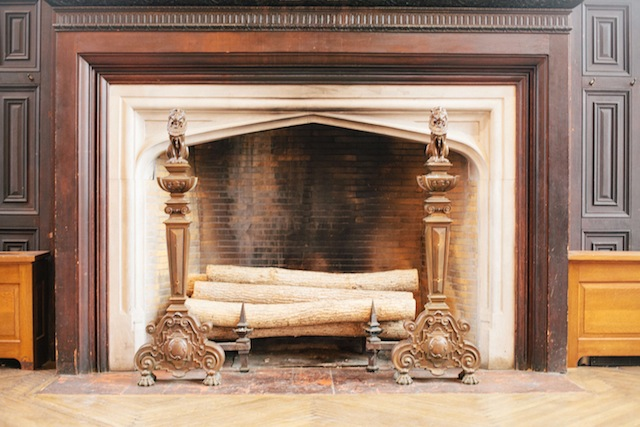 The High Line Hotel Chelsea fireplace hearth hip hotel boutique hotel New York City hotel