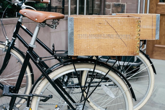 The High Line Hotel Chelsea New York City boutique hotels bikes